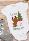 Romper first christmas 50/56 tm 74