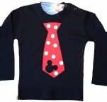 Mickey Mouse kerst shirt 50 tm 128